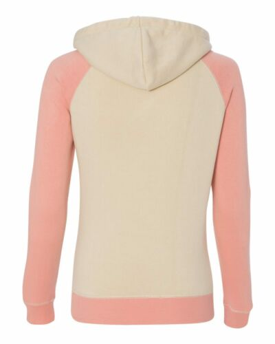 Womens S-2XL Weatherproof Ladies Reese Hoody Raglan Hooded Sweatshirt Hoodie