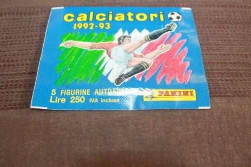 bustina figurine packet pochette CALCIATORI PANINI 1992-93 piena sigillata