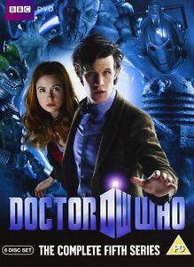 Doctor-Who-Series-5-Completo-DVD-2010-6-Disc-Set-Fifth-5th-Season-5-Cinco
