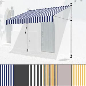 Markise-Balkonmarkise-Gelenkarmmarkise-Sonnenmarkise-Wasserdicht-UV-bestaendig