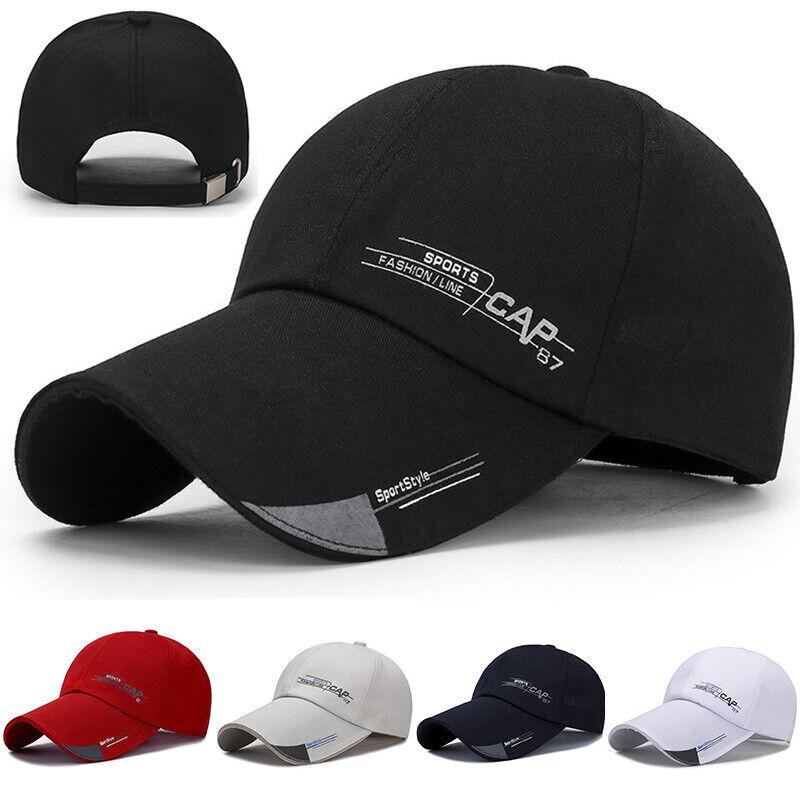 Fashion Cotton Baseball Cap Truker Hats Unisex Adjustable Duck Tongue Cap