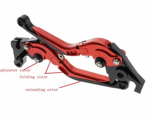 Fold Extend Clutch Brake Levers For BMWG650 X Xchallenge//Xcountry//Xmo 07-2010