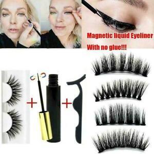 Magnetic-liquid-Eyeliner-False-Eyelashes-Tweezer-Set-Waterproof-Kits-Eye-La-A0X0