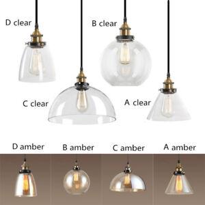 Details About Gl Pendant Light Kitchen Lamp Room Ceiling Lights Bar Modern Lighting