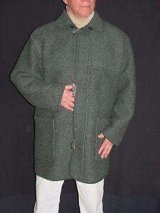 Giesswein Austrian Vintage Ultra Fine 100% Wool Coat Men&amp039s