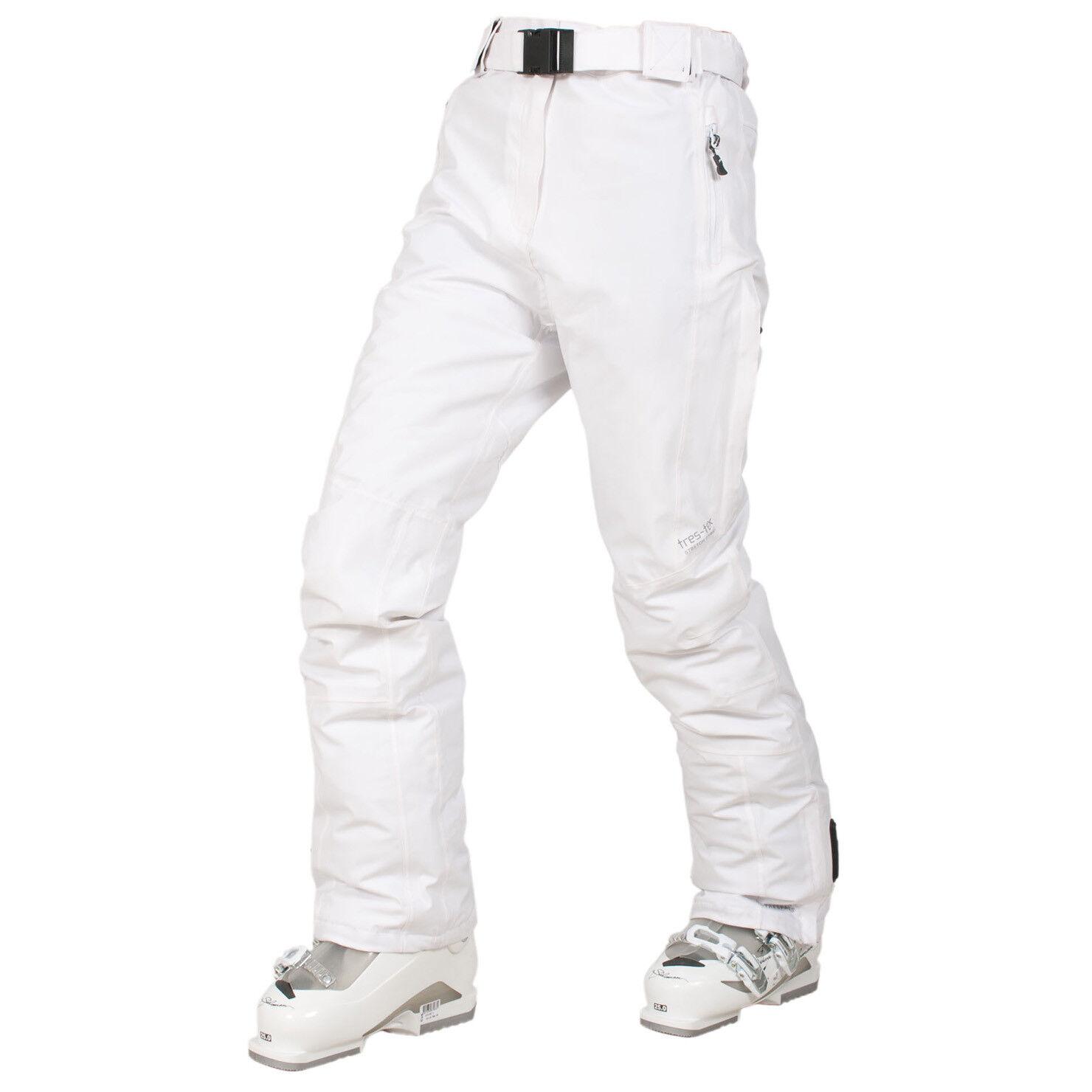 TRESPASS Ski Pants XL UK16 White TP100 Waterproof Windproof  RECCO RescueSolitude  free shipping