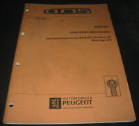 Werkstatthandbuch Peugeot 405 Mehrfacheinspritzung Magneti Marelli 8P LFZ 1992