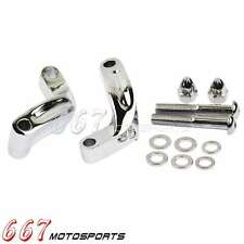 Motorcycle Chrome Mirrors Extension Adapter Kits For 2006-2014 Harley Davidson