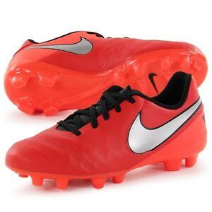 0dd189eba Nike Tiempo Legend VI FG Firm Ground Junior Football Boots UK 4.5 ...