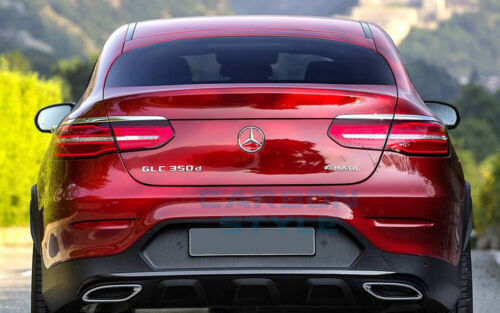2016-2017 Trunk Spoiler Unpainted For Benz GLC-class C253 X253 SUV A Type