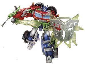 "TRANSFORMERS Prime Beast Hunters OPTIMUS PRIME Commander 4/"" Autobot NEW!"