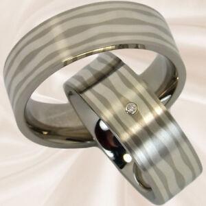 Diamantringe-mit-Silbereinlage-Eheringe-Hochzeitsringe-Trauringe-mit-Gravur
