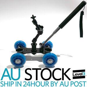 DSLR-Camera-Video-Rail-Track-Slider-Dolly-Car-Arm-Bracket-extension-push-rob