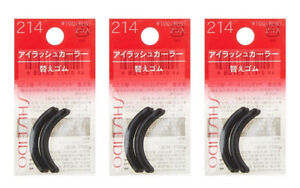 SHISEIDO Eyelash Curler 214 Refill Rubber Pads from Japan ...