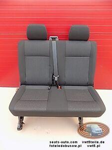 Seat rear bench double VW T6 Transporter Kutamo   eBay Banquette Vw T on