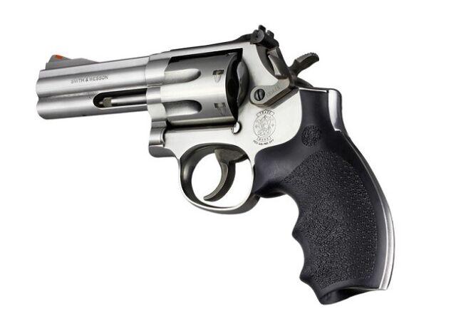 Hogue Grips Grip Rubber Black S&w K/l Rnd Butt Bantam 62000 | eBay