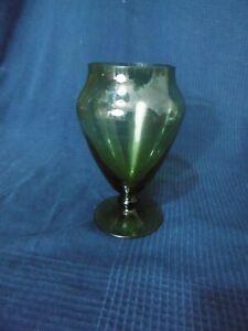 Vaso Caramelle IN Vetro Forma Balaustra Antico All'Interno Suono Succo Vintage