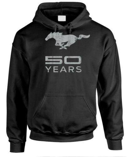 Classic Ford 50 Years Mustang Unisex Pullover Hoodie