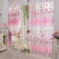 Grüne Blumen Türvorhang Curtain Fenster Vorhang Fadengardinen Gardinenschal