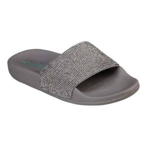 Skechers Pop Up Stone Age In Pewter Slip On