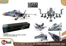 1/18 BBI Ultimate F-18 F-18C Navy Hornet VFA-86 Fighter Soldier Jet Model New