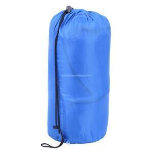 Blau Schlafdecke Schlafsack Deckenschlafsack Camping Outdoor