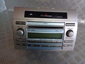 2008 toyota corolla verso 2.2 d-4d radio/stereo 861200f030 | ebay