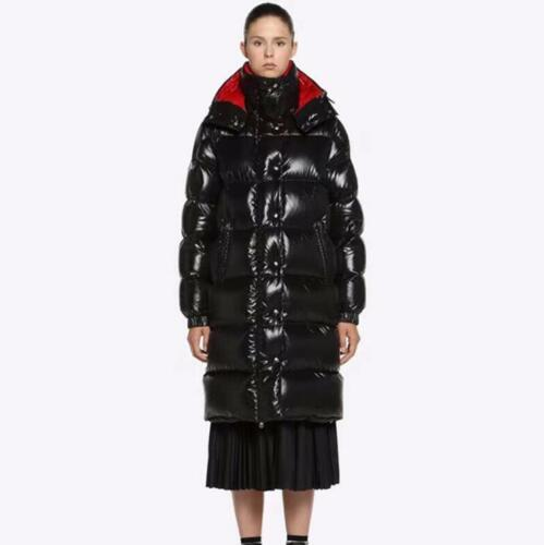Coats Hood Puffers Sbox14 Thicken Long Glossy Chic Down Parka Womens Shaggy Duck fF7q8Xw