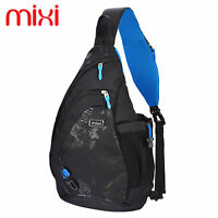 Mixi Mens Sports Crossbody Bags Sling Chest Bag Messenger Bag ...