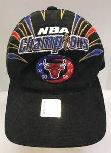 b4189b3b7ee Image is loading Starter-Chicago-Bulls-1998-NBA-Champions-Cap-StrapBack-