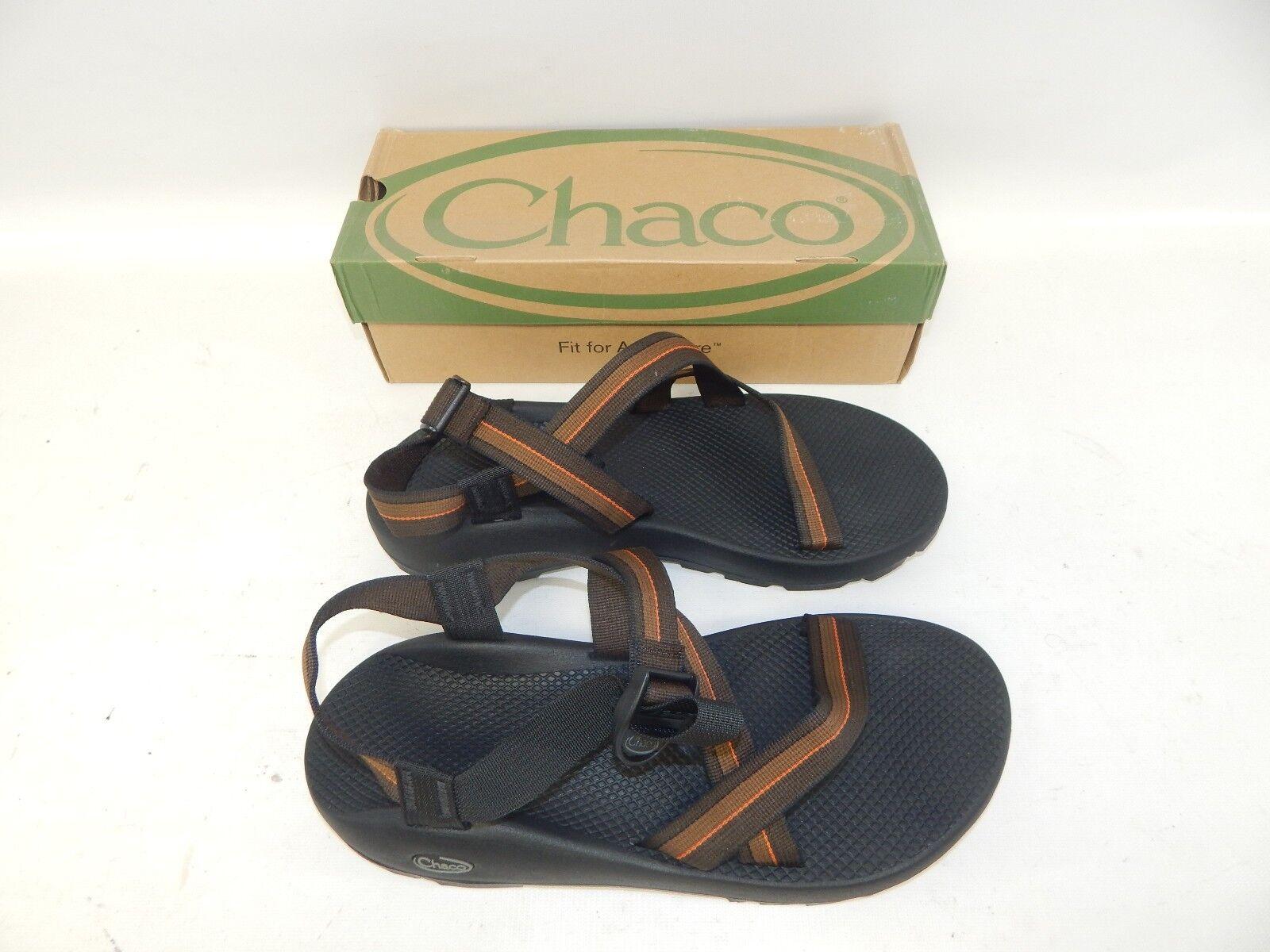 New Chaco Men's Men's Men's Z1 Unaweep Zip Brown Two Sport Sandals Size 15  Eu 48  33 CM 50dcdb