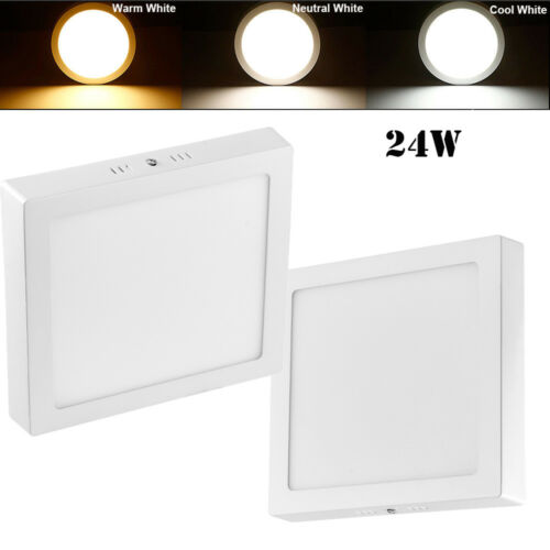 6W 12W 18W 24W Surface Mounted LED Panel Light Ceiling Downlight Wall Lamp