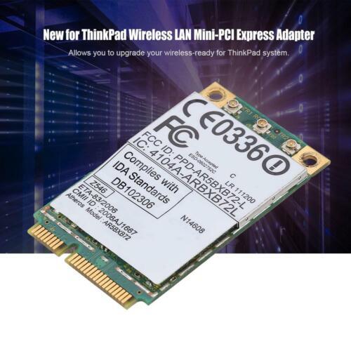 AR5BXB72 300M Mini-PCI-E Dual Band Network Card for ThinkPad IBM T60//T61//R61 DD