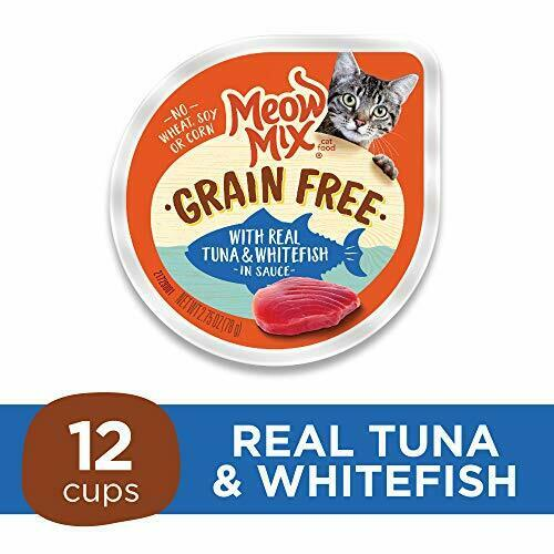 Meow Mix Grain Free Wet Cat Food, Tuna and 2.75 oz (Pack ...