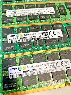 PC3-12800R 1600MHz DDR3 ECC Reg Memory Dell PowerEdge R420 Server 6x16GB 96GB