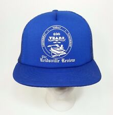 Reidsville Review Small Town Newspaper Foamie Snapback Trucker Hat