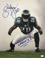 80fff9779d8 BRIAN DAWKINS  2 REPRINT 8X10 AUTOGRAPHED SIGNED PHOTO PHILADELPHIA EAGLES  RP