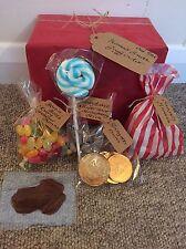 Harry Potter Gift Box Honeydukes Sweets Chocolate Frog PERSONALISED