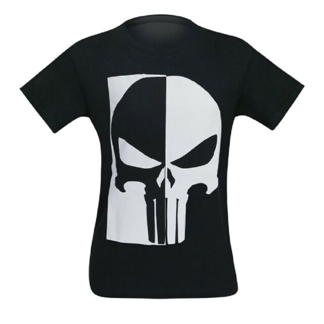 a5608ed5eeb3b Vintage Style The Punisher Skull Marvel Comics T-shirt Small for ...