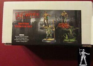 AE-WWII-BRI005-British-Starter-Set-4-Miniatures-Weird-War-World-War-2-Heroes