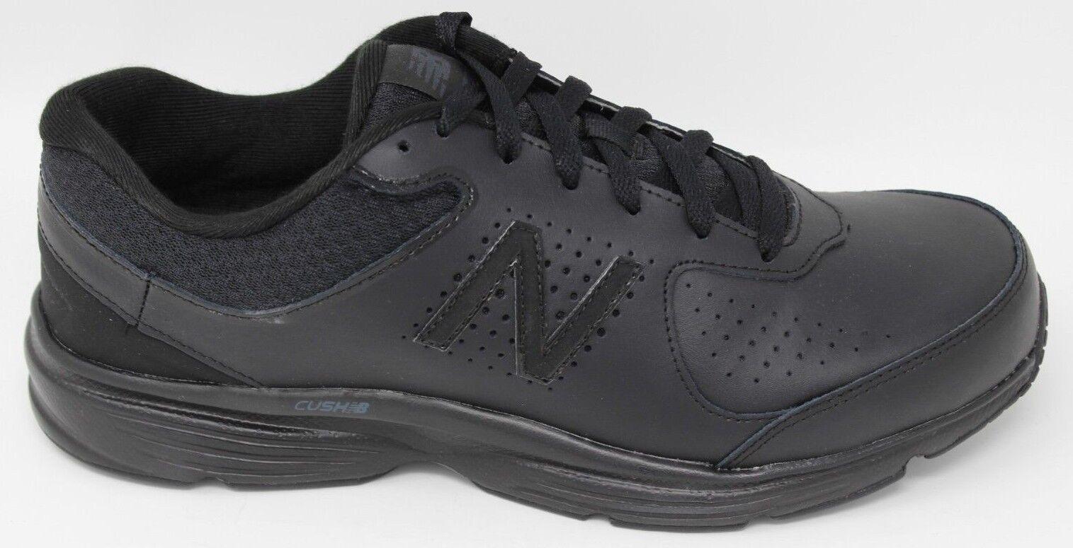 Para Hombre Caminar 411 New Balance v2 MW411BK2 Negro Nuevo