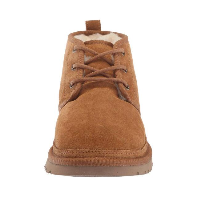 5f077f0d1be UGG Australia BOOTS Neumel Chestnut Suede Wool US Size 10 Men