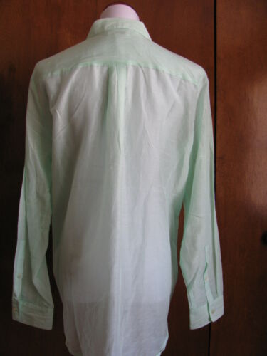 Gap women's cotton//silk light green shirt New