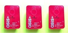 3 x Schwarzkopf OSIS + MESS UP texture matt gum 2 MEDIUM CONTROL 100ml