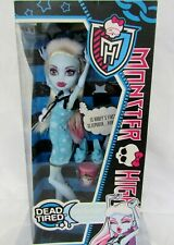 Monster High Abbey Bominable Dead Tired Doll New in Box Sealed