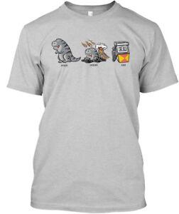 Solid-Liquid-Gas-Dinosaur-T-Hanes-Tagless-Tee-T-Shirt