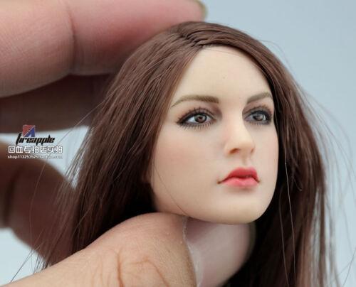 KIMI Toys 1//6 Female Head Sculpt  KT005 For  HT VERYCOOL PHICEN Body