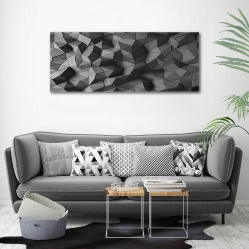 Acrylglas-Bild Wandbilder Druck 125x50 Deko Kunst Abstraktes 3D