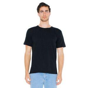 American-Apparel-Organic-Cotton-Fine-Jersey-Tee-Soft-Crew-neck-T-Shirt-2001ORG