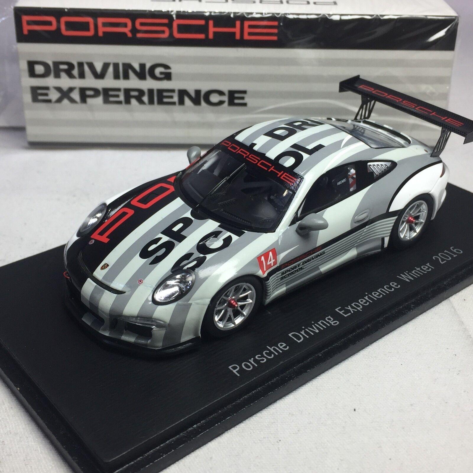 1  43 scale Spark Porsche Driving Experience Winter 2016 WAX02020017  économiser jusqu'à 50%